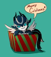 Merry Cristmas by FeatheryDragon