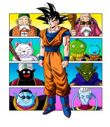 Masters of Goku (full color) by albertocubatas