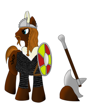 Pony Viking by Frolda