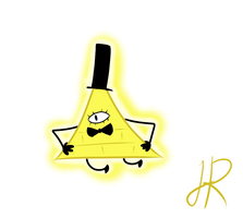Bill Cipher by SkeletalStar