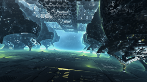 Alien Station XII by banner4