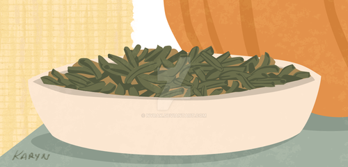 green bean casserole by Nyrak