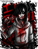 Jeff the Killer by Isanika