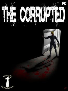 The Corrupted front COVER by KeithMcMurran
