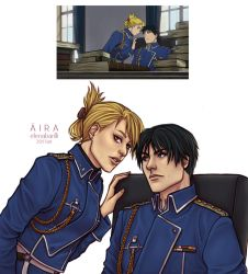 Roy and Riza - screenshot 2 by Elena-Barilli