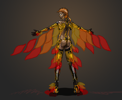 Cyborg Phoenix by ScottaHemi