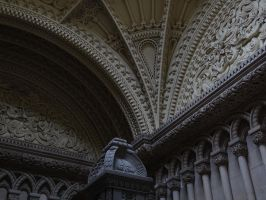 Penryth Castle - ceiling by UdoChristmann