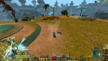 Guild Wars 2 Overlay | Nature's Daughter by EriolDesigns