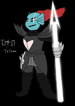 Undyne the Undying by Telem-Kam