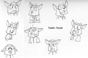 Puddin - Facial Sheet by dawny