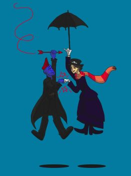 We're Mary Poppins Y'all! by DitaDiPolvere
