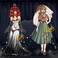 Adopt Auction: First Halloween Set {closed} by Luscielle