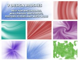 7 Abstract Design Brushes by muish