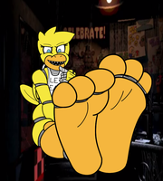 Chica Feets by KyuDude