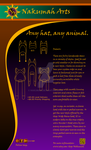 Animal Hat Prices Poster by Nakumah