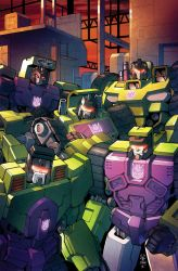 TF RID #29 cover colors by khaamar