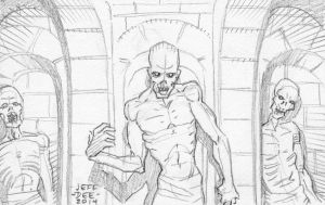 JD3 Catacombs of Bone Cover Preliminary by JeffDee