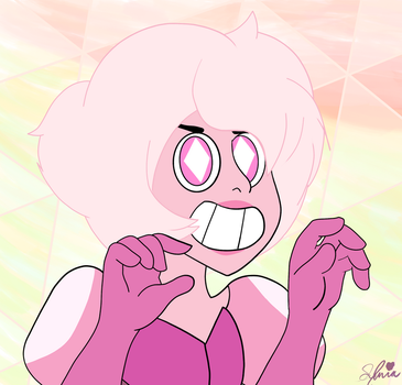 Pink Diamond's Official Design - FanArt - SU by killtherabbit79