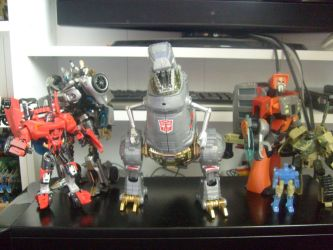 Transformer haul 25/6/11 by Kirby-Force