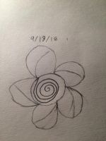 Swirl flower by LovelyBunny-17