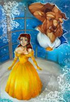 Beauty and the Beast by m-u-ll-e