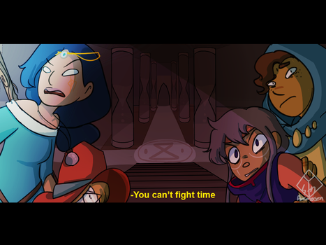 [Fake screenshot] Witch Please : It's Time by MisSarena