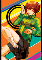 Persona 4 - Chie Satonaka by lightning-seal