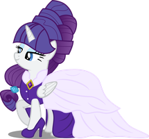 Princess Rarity by AtomicMillennial
