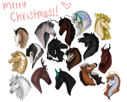 Merry Christmas and Happy Holidays!! [GIFTS] by ellipsiem