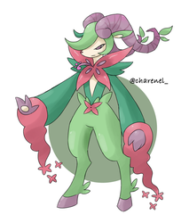 Nymphaun (fakemon) by Charenel