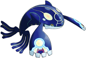 Alpha Kyogre by ShiroTheWhiteWolf