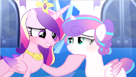 Cadence and Flurry by MoonlightMovieYT