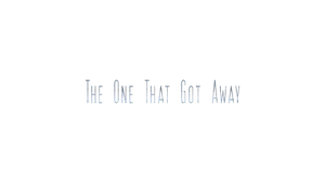 The One That Got Away Logo by BuzzNBen