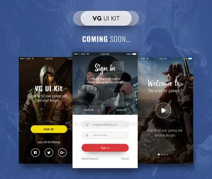 Vg Ui Kit - Coming Soon by slayerD1