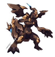 Zekrom Rock Type