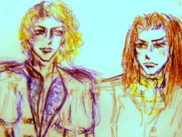 Lestat and Louis  - fragile bond by FlamexFlower