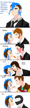 Payday Pocky Day 2017 by DumbBlond101