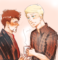 feel better || stevetony by Ldynamite