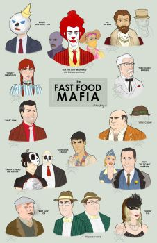 Fast Food Mafia, final by silentsketcher