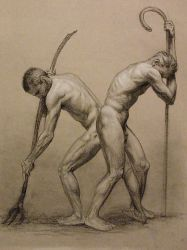 Cain and Abel by WoodyLWG