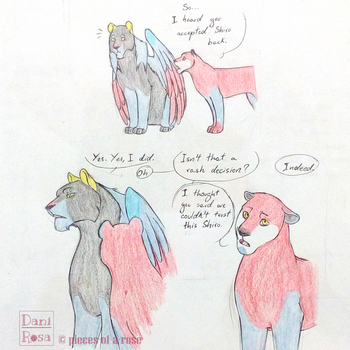 Of Black Paladins and protective lions - part 1 by Daninha-chan