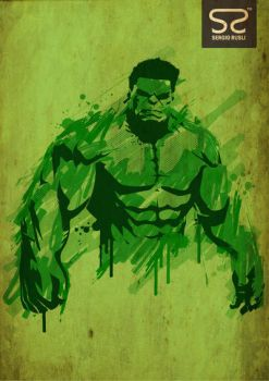 The Incredible Hulk by Rexgios