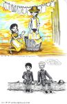 Laundry Line, Chat over Lunch by sweet-suzume