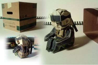 Old Snake papercraft by BCEman