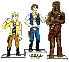 No Gold for Chewie by siebo7