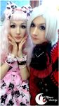 ID Moon bunny. Feba and Inu. by CuteMoonbunny