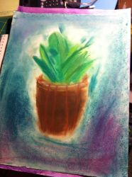 Potted Plant by Kataang102
