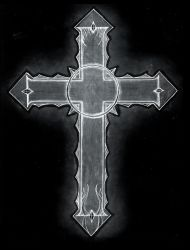 Gothic Cross Black by The-Infamous-MrGates