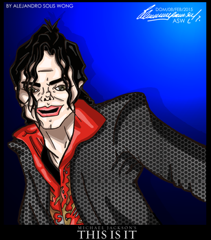 MJ This Is It 2015 by AlexGangster20Comic