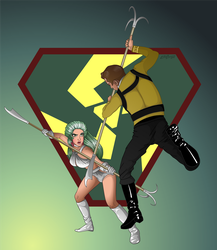 Kirk vs. Shahna by 71olo